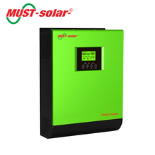 High Frequency Solar Inverter 12v 220v 1000w with 50A PWM Solar Charge Controller, Inverter Kit