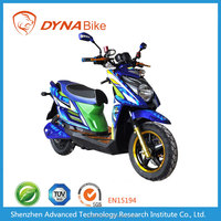 60V, 3000W lithium ion battery fast electric beach cruiser mountain Motorcycle with large LCD meter