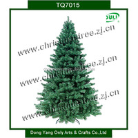 7FT Hinged Dense Christmas Tree with Metal Base For European Market