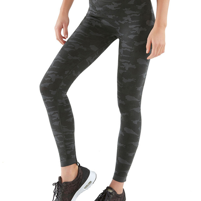 High quality seamless camouflage women yoga pants tights wholesale