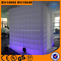 cheap white inflatable air cube tent