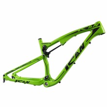 Hot sale MTB bicycl 27.5er mtb carbon frame 650b full suspension carbon fiber mountain frameset