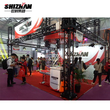 Mini aluminum portable exhibition roof truss
