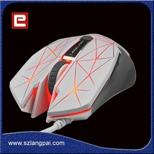 Normal Size Computer Mouse Colorful Wired Optical Mouse