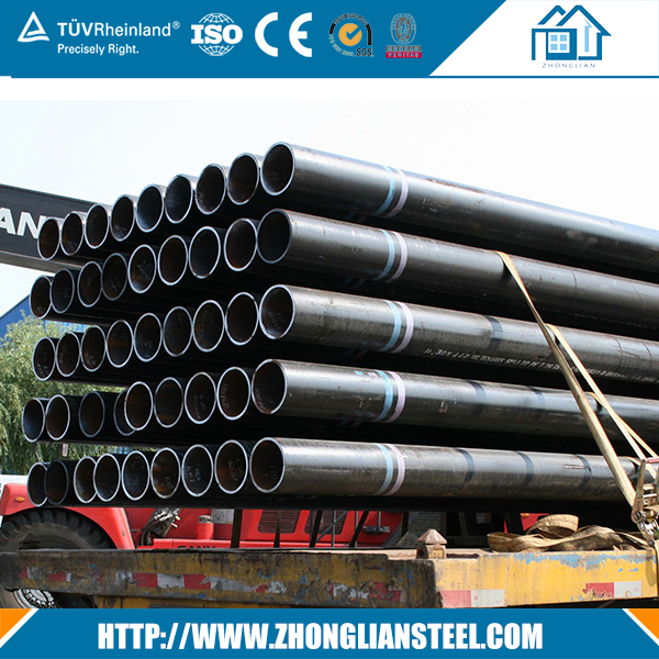 ASTM a333 gr6 stpg 370 sch 120 carbon steel seamless pipe