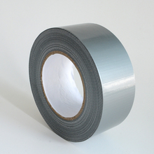 Color duck tape packing tape waterproof fabric adhesive grey with free sample