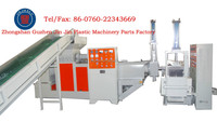 Waste pp plastic recycling film extrusion machine line from China factory for sale