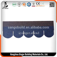 Zhejiang Fish-Scale Type Asphalt Shingle IKO Quality Standard