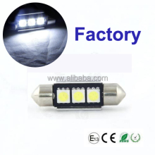 Canbus 36mm 39mm 42mm 3SMD 5050 Festoon 12V LED Car Bulb