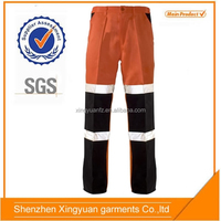 Protective factory Polyester/cotton trousers hand pocket cargo pants