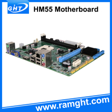 ATX Form Factor and PGA 988 Socket Type HM55 motherboard