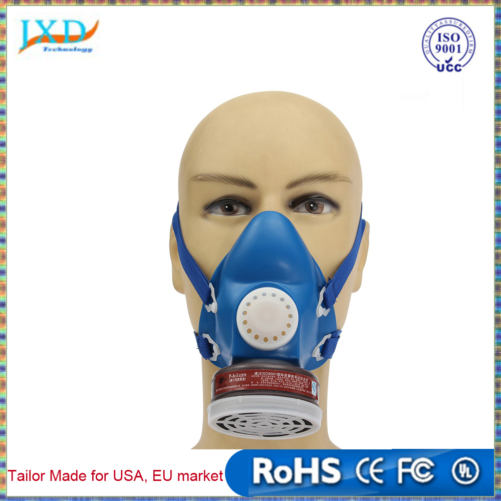 Self-priming Filter Type Antivirus Protect Mask Prevent Harmful Gas Face Safely Security Protector