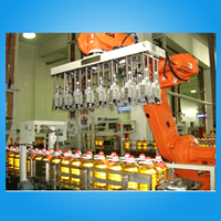 automatic plastic bottle machine