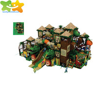 dinosaur and lion topic brave maze indoor treehouse playground