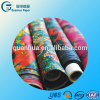 specialized suppliers sublimation printing paper/fast dry 100gsm sublimation paper