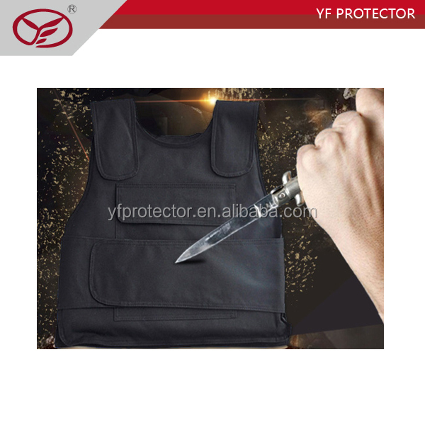 Lightweight bulletproof and anti stab vest for military protection