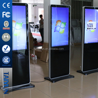 42'' FHD floor standing LED media touch screen video player