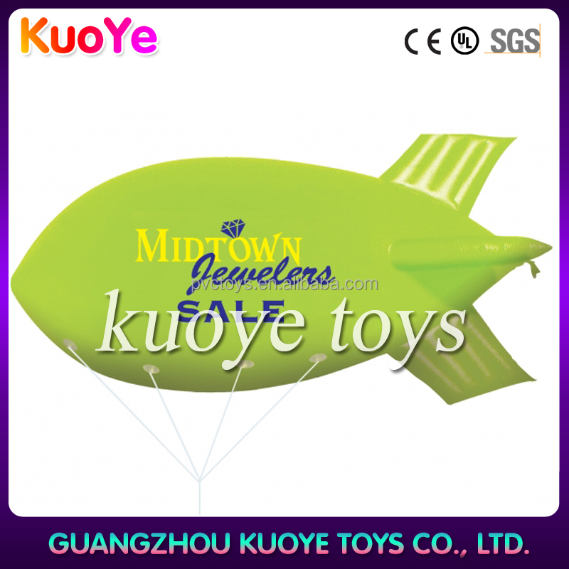 Wholesale pvc vinyl advertising inflatable blimp zeppelin helium balloon
