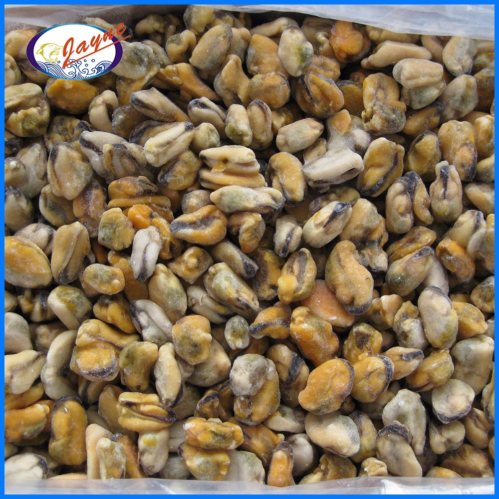 High quality cooked blue mussel meat with 1Kg/Bag or 10Kg/CTN Bulk Package
