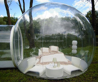 high quality inflatable clear dome tent transparent camping tent