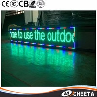 High Quality Smd Rgb P6 Led Car Message Moving With High Resolution