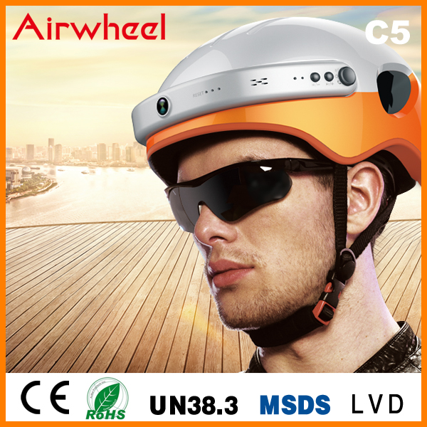 waterproof Airwheel C5 smart vintage helmet for motorcycle helmet ski and diving
