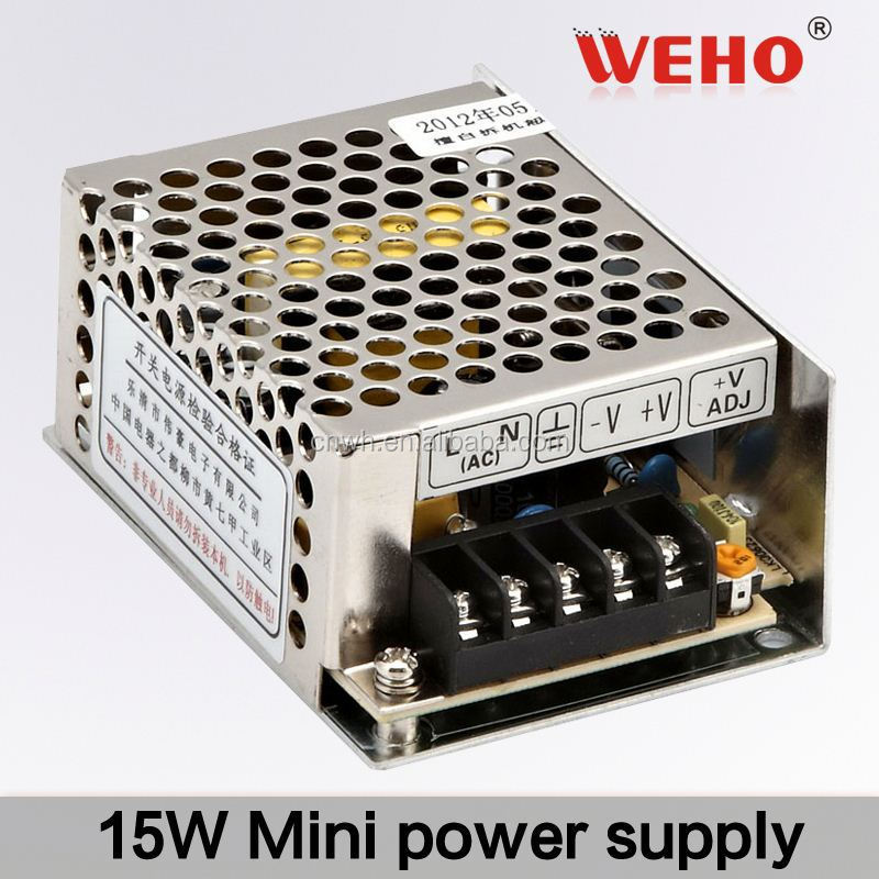 WEHO 15W Single output minisize power supply led switching power