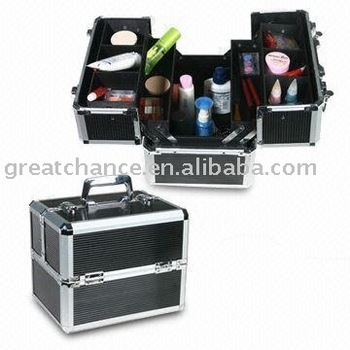 Fashion design aluminum cosmetic case