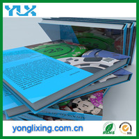 Cheap hardcover book printing and children color book printing supplier