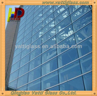 building made of glass,building elevation glass,building facade glass