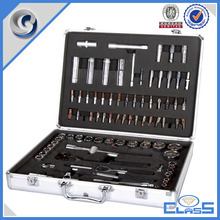 customed instrument silver aluminum tool case tool box storage box