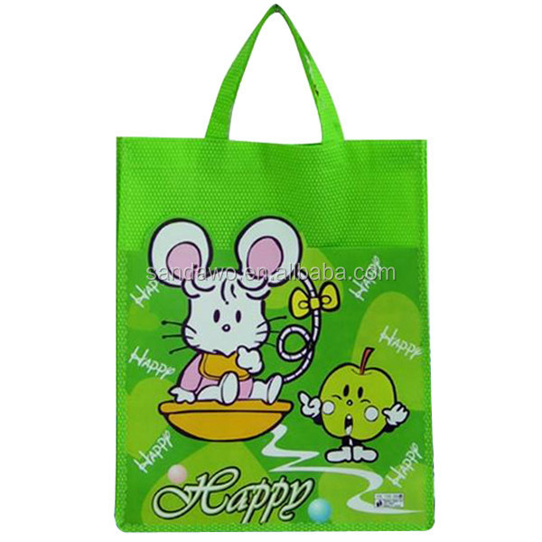 Colorful Top Quality Promotion hemp shopping bags