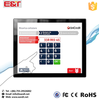 15 inch pos touch screen lcd Pcap touch screen for touch screen pos system