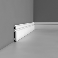 High quality polyurethane moulding 401d skirting board