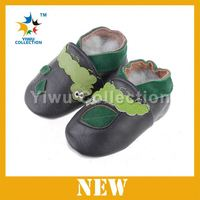 Cartoon Baby Leather Shoes Custom Design