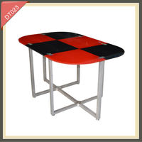 2014 colorful dinning table and chairs