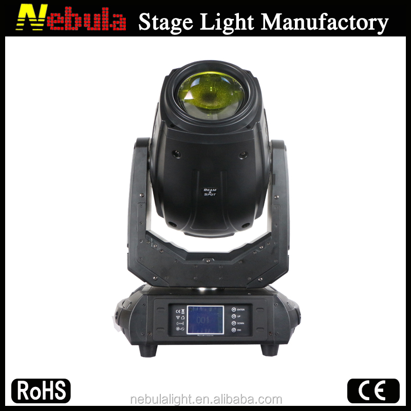Nebula professional 280w 10r Beam Spot 3 in 1 moving head used stage lighting equipment