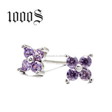 OEM Accept Crystal Stud Earrings Jewelry,Jewellery In China Cheap