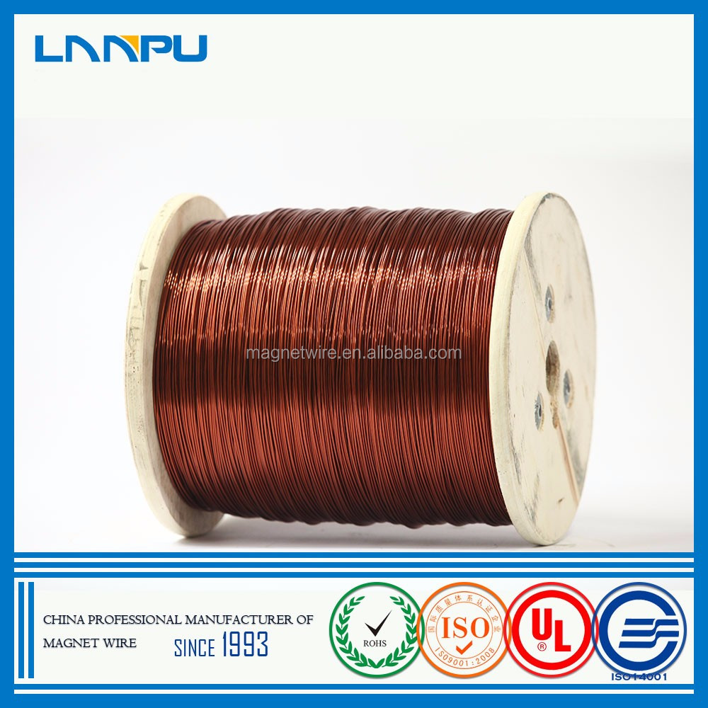 Best Price Copper Covered Enameled Wire Size 2mm Round Enameled Copper Wire for Motor Winding