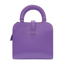 Bulk Order Handmade Make your own PU Leather Purple Beach String Hand Bag Sets for ladies