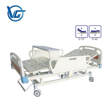 Hospital furniture folding 2 functions manual medical bed hospital bed price for sale