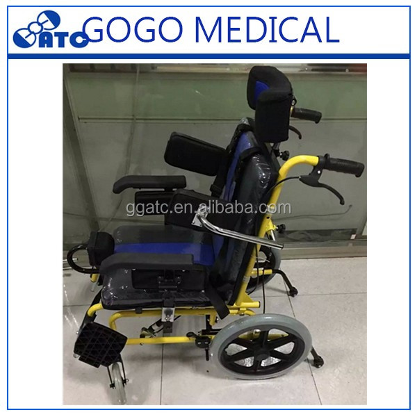 Wheelchair for children to cerebral palsy wheelchair