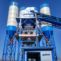 Jinsheng new technology with ISO certificate HZS120 concrete batching plant