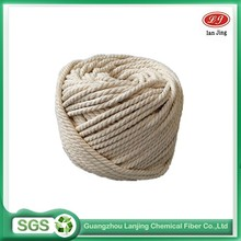 Hot selling low price 3- strand cotton ropes