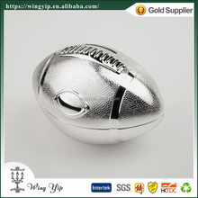 Wholesales Manufacturer Ruby Mini Silver Plated Coin Box for Ornament