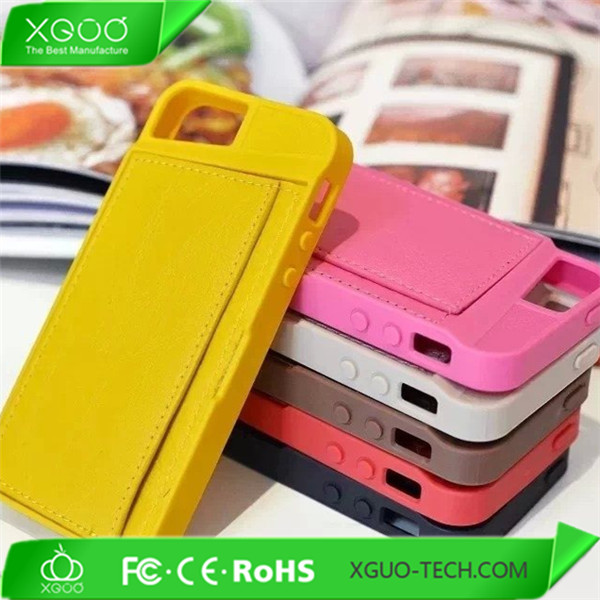 for wallet tpu leather skin iphone 5 cover