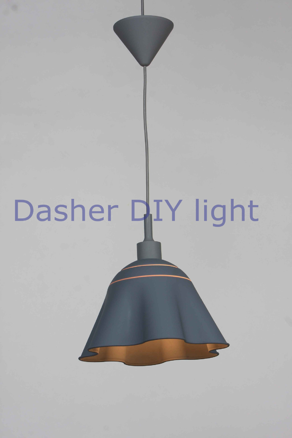Colorful Silicone Pleated Silk Fabric Pendant Halogen Lamp Shade ...