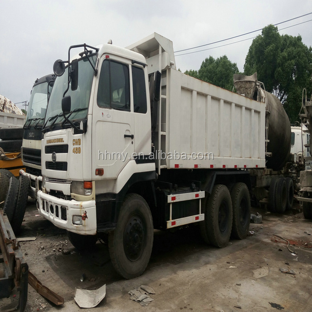 VOLVO NISSAN Made in Japan used dump truck 10 wheel Japan's original for sale