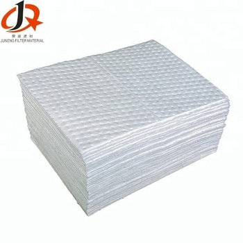 Perforated heavy weight pads oil absorbent mats pack-100 4mm