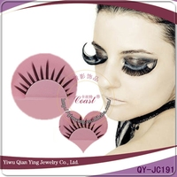long fashion synthetic false fiber eye lashes
